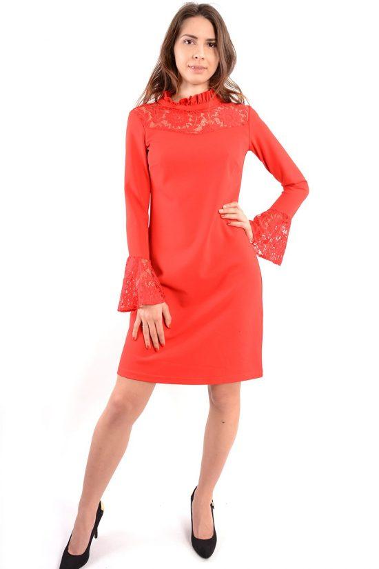 Sukienka Nadia czerwona
