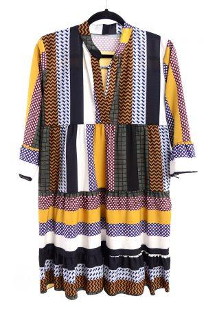 Sukienka AZTEC kolorowe pasy