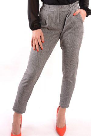 Spodnie materiałowe ELLIE szare