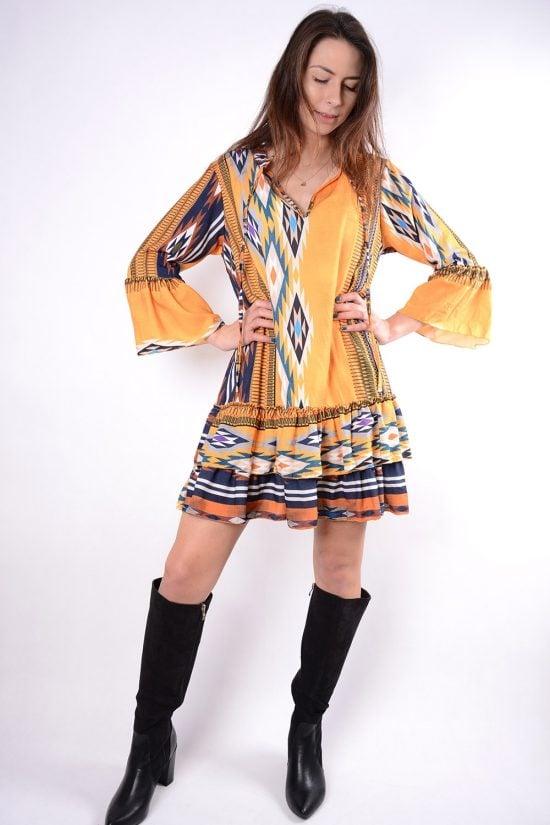 Sukienka ANDI żółta