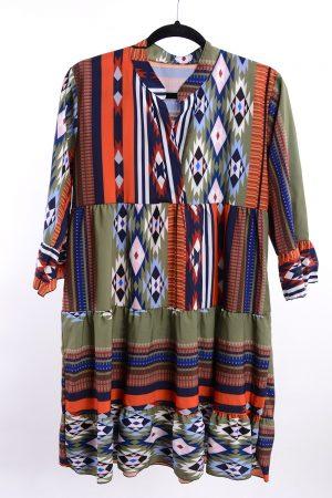 Sukienka AZTEC zielona
