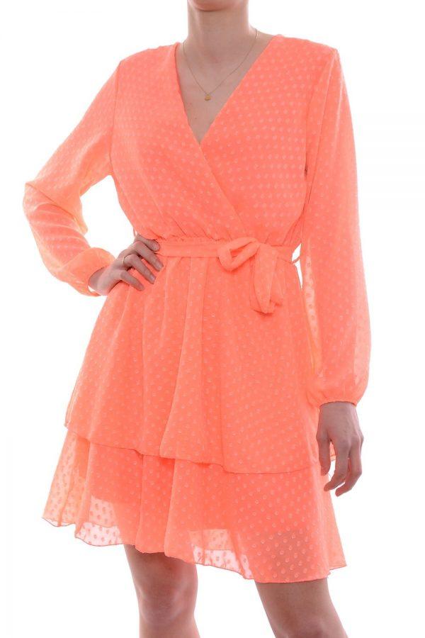 Sukienka MAZE pomarańczowa