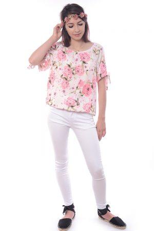 Spodnie białe ELWIRA