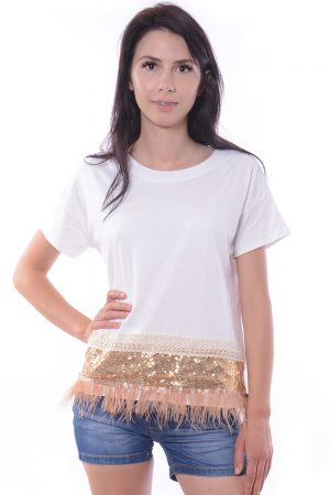 T-Shirt biały TIFFY