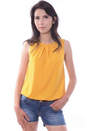 Bluzka COLEEN żółta