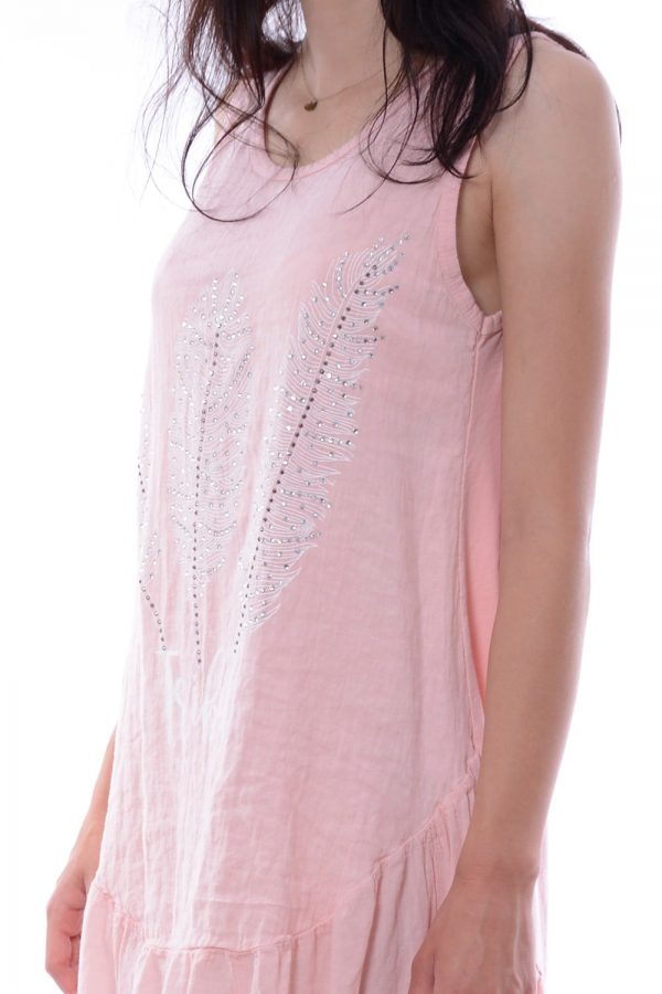 Sukienka TRISTEL różowa