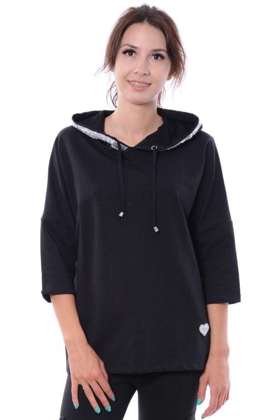Bluza WILD czarna