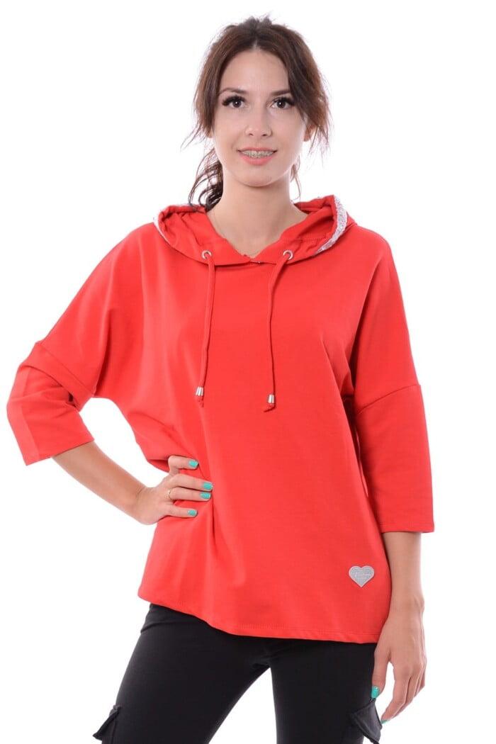 Bluza WILD czerwona