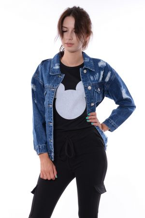 Katana jeansowa oversize LORETTA