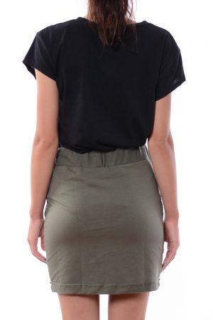 Spódnica dresowa KEIRA zielona