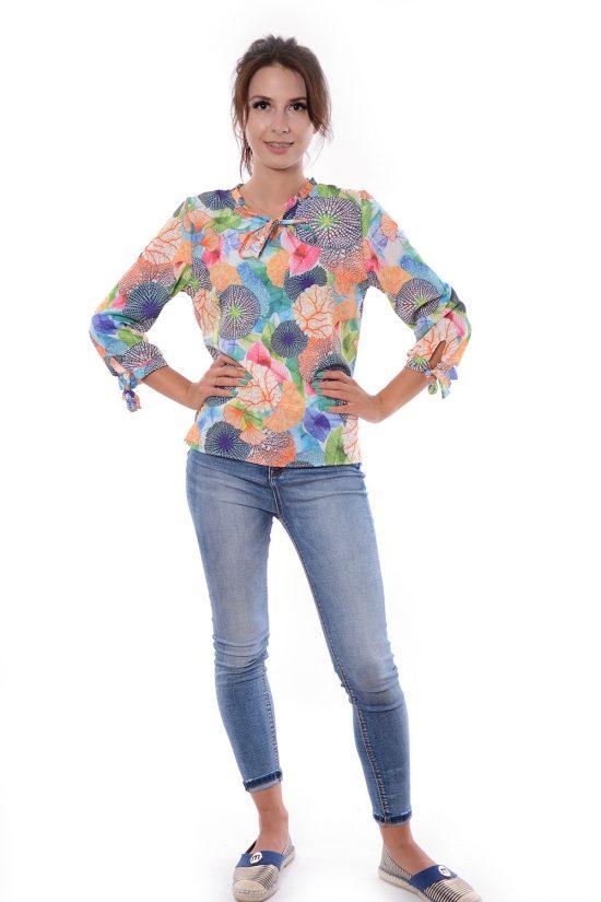 Bluzka FLARA kolorowa