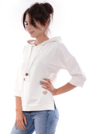 Bluza BECKY biała