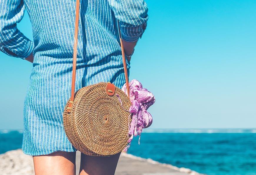 sukienka letnia nad morze